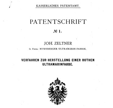 Erstes deutsches Patent